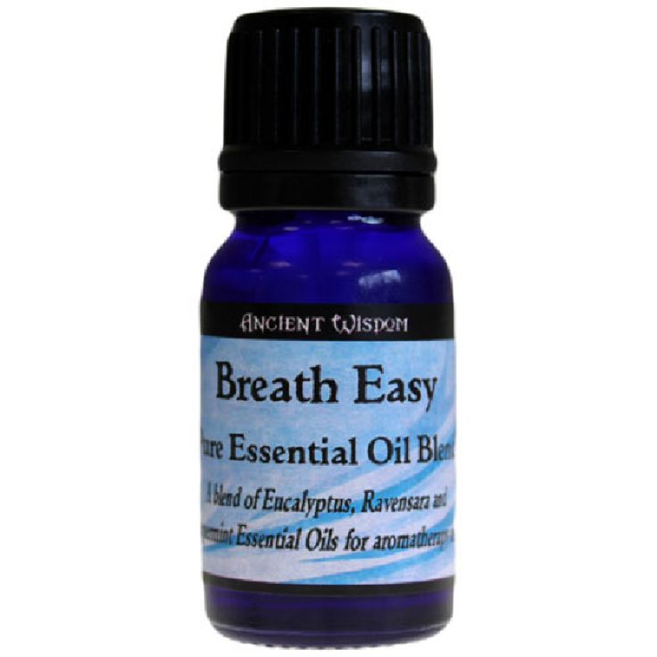 A refreshing and clearing blend of Eucalyptus, Ravensara and Peppermint ease breathing after exposure to traffic pollution and dust etc.  Inhale a few drops on a tissue for quick relief or use in oil burners  Essential oil blends are combinations of pure oils that all work well together to promote something specific like relaxation, energy, happiness and much more.   These blends of essential oils can be used for their aromatherapy as well as fragrant purposes.  See more on our website