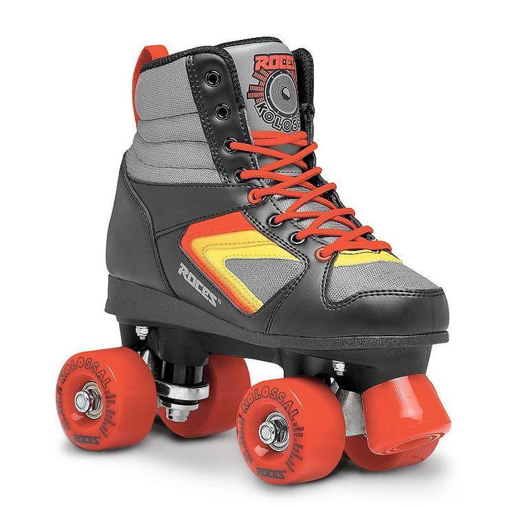 Adult Roces Kolossal Roller Skates, Black