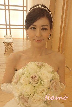 美人花嫁さまの素敵な3スタイル♡前編♡ の画像|大人可愛いブライダルヘアメイク 『tiamo』 の結婚カタログ