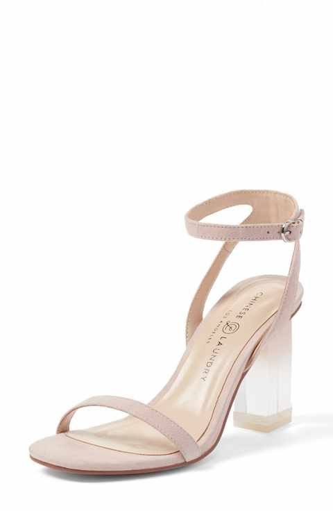 1059250116c Chinese Laundry Shanie Clear Heel Sandal (Women)
