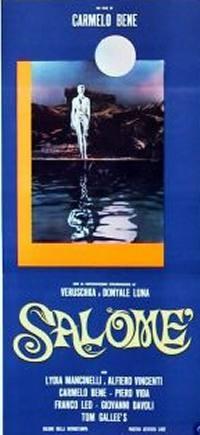 La locandina del film Salomè di Carmelo Bene (1973)