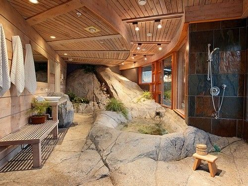 Epic Bathroom, I can't even find the toilet! lol
