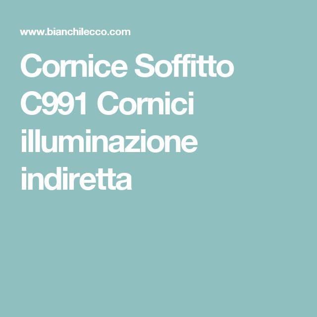 Cornice Soffitto C991 Cornici illuminazione indiretta