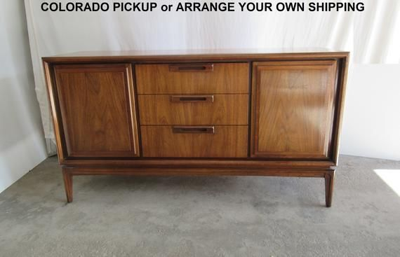 Midcentury Modern Credenza Likely By Garrison Mcm Buffet Perfect