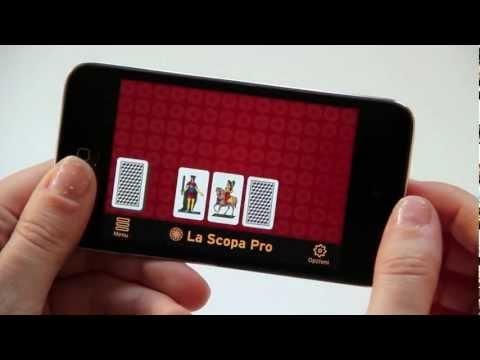 Play for FREE the best ever Scopa card game for iPhone and iPad: http://bit.ly/LSPen | Gioca GRATIS con il miglior gioco di Scopa di sempre per iPhone e iPad: http://bit.ly/LSPit