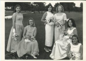 Fotofolio Postcard, Delta Debutante Club, Greenville, Mississippi, Photograph by Annie Leibovitz