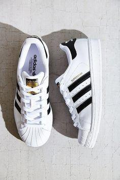 Adidas Superstar blancas con rayas negras para mujer 2017