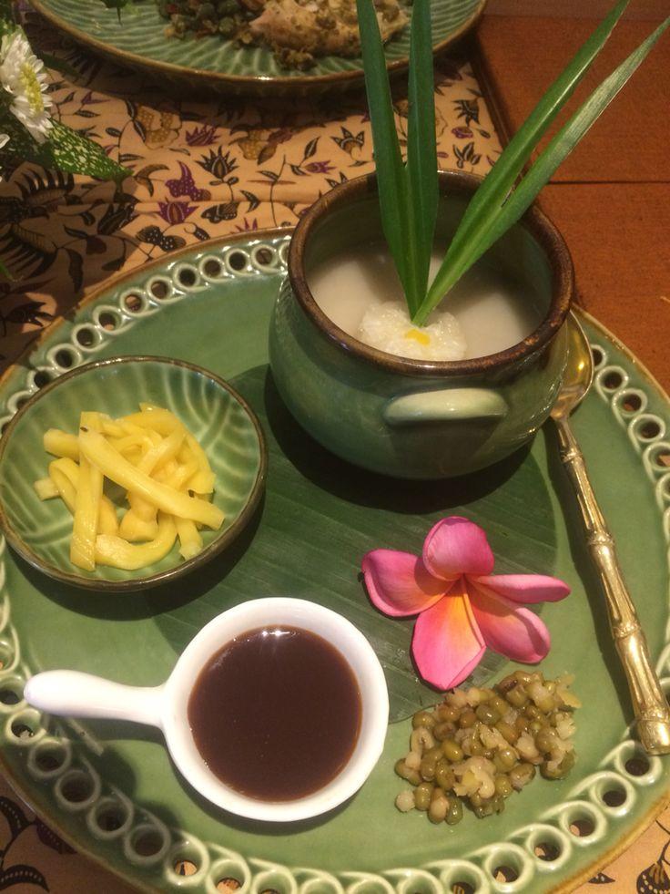Kolak at Raja's Balinese Restaurant, Nusa Dua Beach Hotel & Spa, Bali