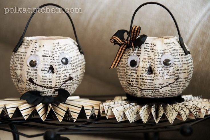 Meet Mr. & Mrs. O'Lantern - The Polkadot ChairThe Polkadot Chair