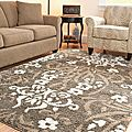 Ultimate Smoke/ Beige Shag Rug (8' x 10') | Overstock.com Shopping - The Best Deals on 7x9 - 10x14 Rugs
