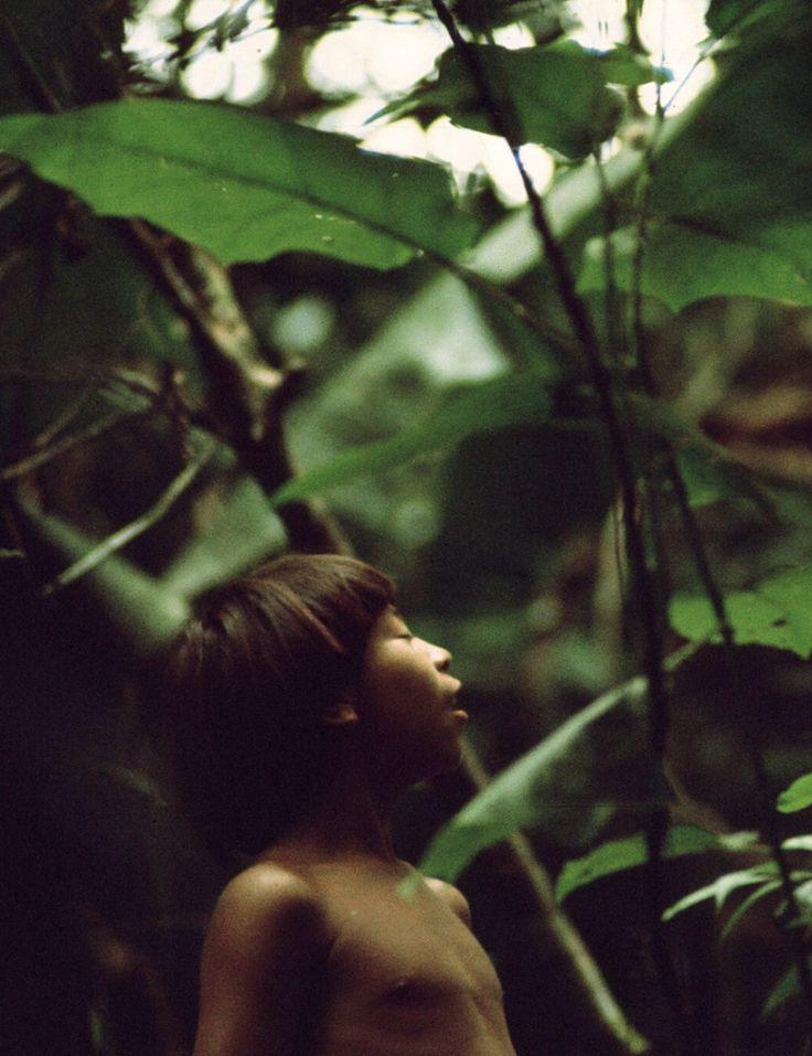 Galeria guarda 400 fotos dos índios yanomamis