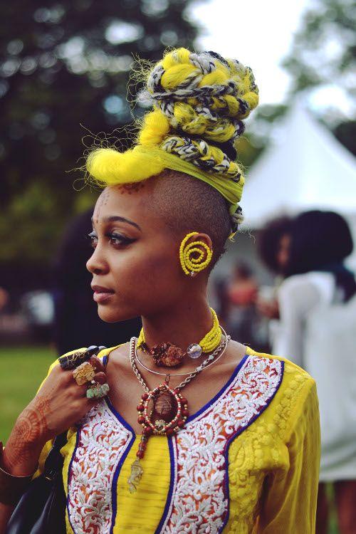 Afropunk Fest 2014, Afropunk fest style. Images by Brianna Roye.