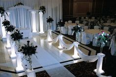 wedding columns for sale craigslist | flowers sold separately