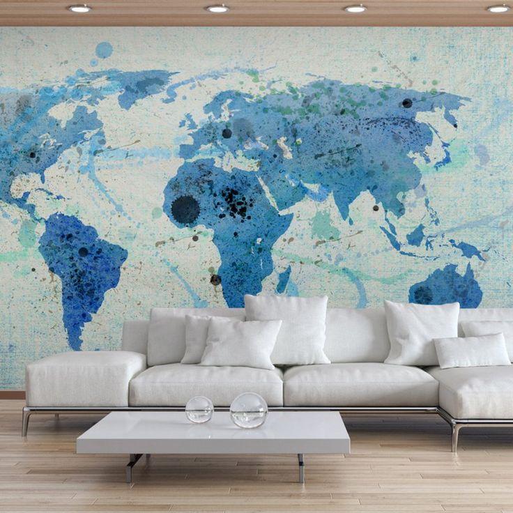 Fototapeta - Cruising and sailing - The World map - Mapy Świata - FOTOTAPETY