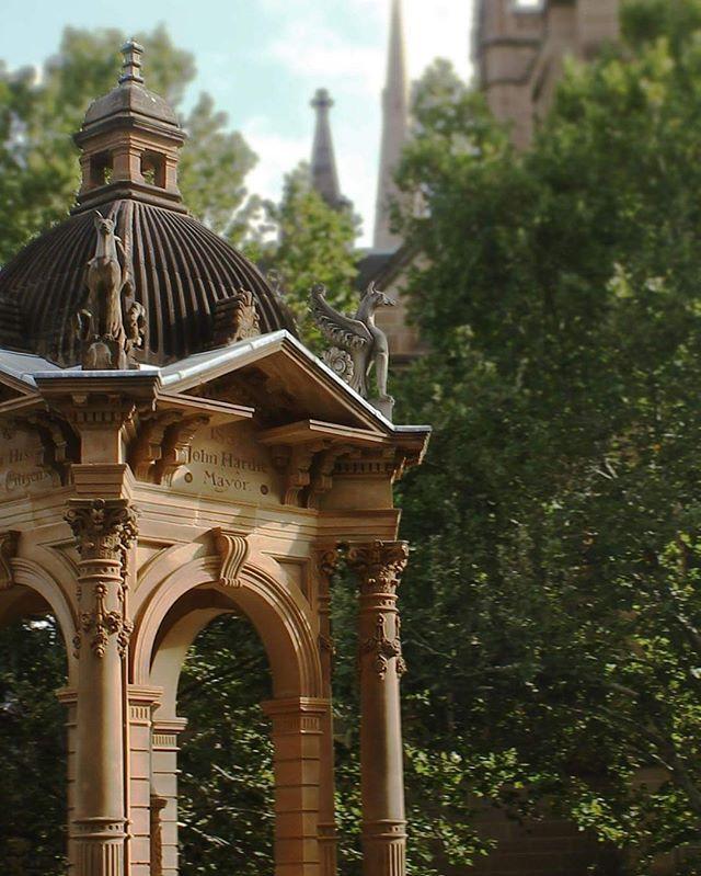 #ilovesydney #domain #sydney #australia #photography #canon #instagood #instagram #travel #travelphotography #architecture #details #memorial #sun #trees #fade #sculpture #zoom #summer #edited #cityofsydney #passionpassport #sydney_insta
