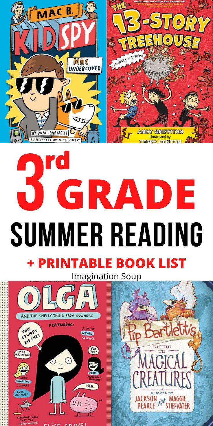 3rd grade summer reading list ages 8 9 kids reading