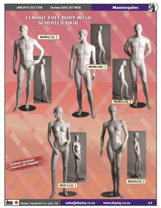 Mannequins, Fashion Forms & Display Models