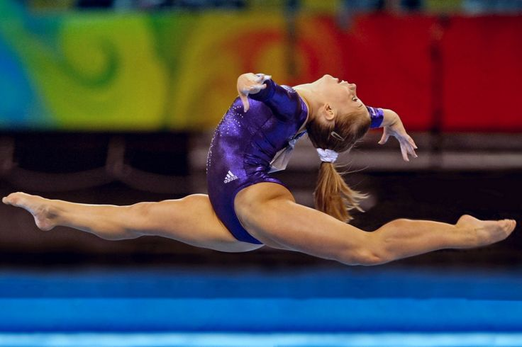 Shawn Johnson Beijing 2008 Olympics