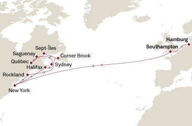 Los Mejores Cruceros por Canadá y Nueva Inglaterra INFO Y RESERVAS: http://www.crucerostransamerica.com/