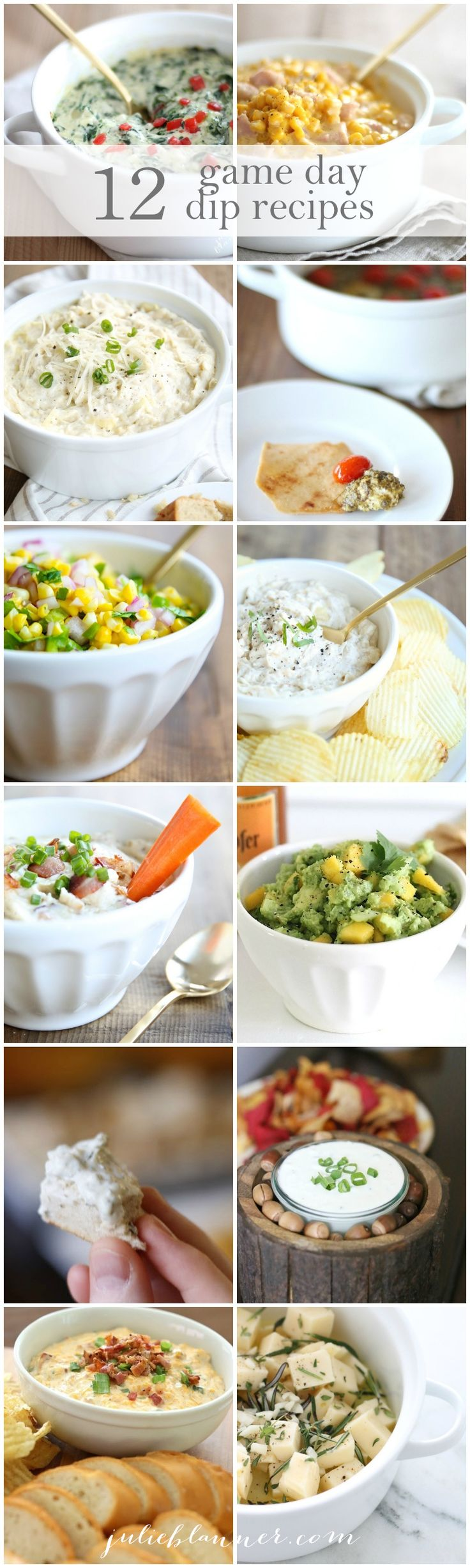 12 easy game day dip recipes that you can prepare in 10 minutes or less!