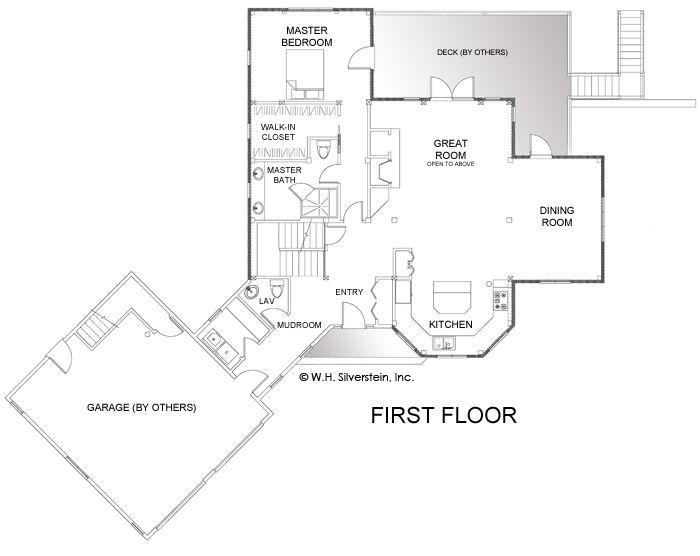 9 best images about lodge floor plans on pinterest for 4 bedroom timber frame house plans