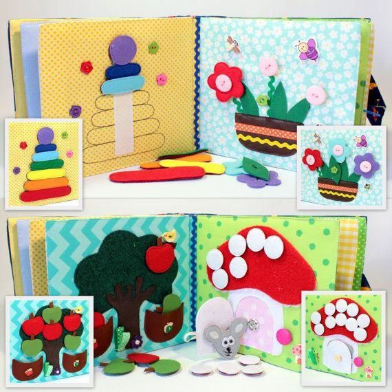 Livre calme occupé Eco des enfants friendly cahier par MiniMoms