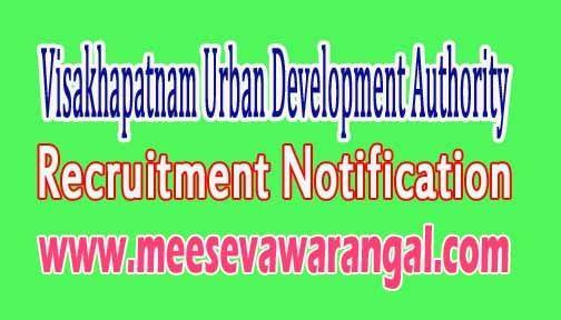 Vuda (Visakhapatnam Urban Development Authority) Recruitment Notification 2016 apply www.vuda.gov.in 09 Planning Apprentice Post Online  ...