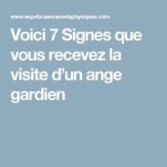Voici 7 Signes que vous recevez la visite d'un ange gardien