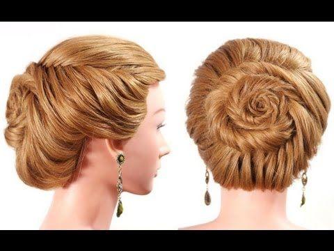"""Прическа с плетением """"рыбий хвост"""" на длинные волосы. Easy fishtail braid hairstyle"""