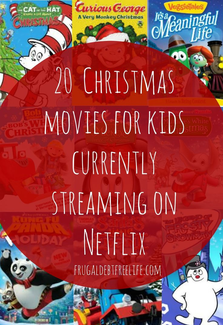 Christmas for small Children streaming on Netflix. This is my favorite time of year. I just love Christmas. And one of the things I love is snuggling on the couch with my kids while watching a movie and drinking hot chocolate.   We don't have cable, and our TV source of entertainment is Netflix. So today I wanted to share 20 kid-friendly Christmas movies currently streaming on Netflix.