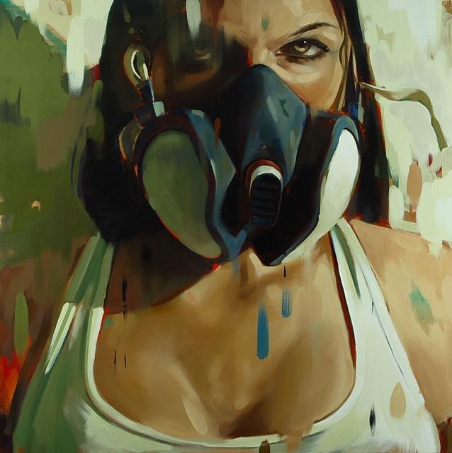 Niels Corfitzen «Girl with Filter Mask»