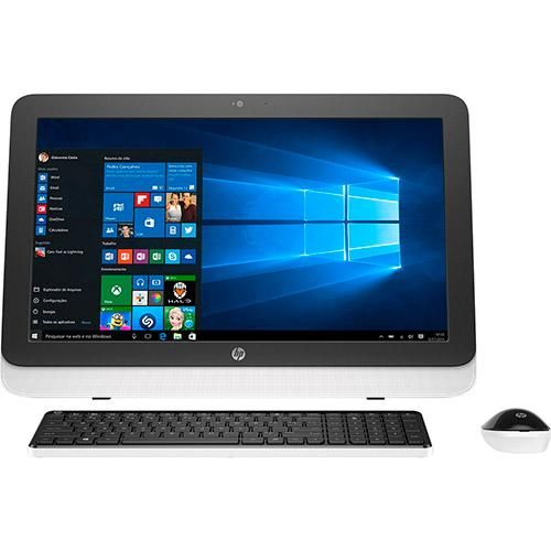 Computador All in One HP 23-r101br Intel Core i5 6GB 1TB LED 23 Windows 10