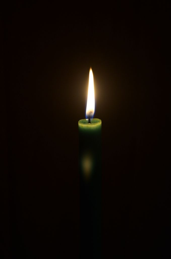Chiaroscuro Photography Candle by Fiona Groom