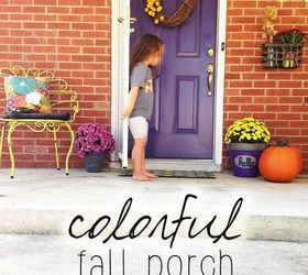 DIY Home Decor: Fall Front Door Makeover