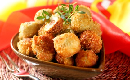 Crumbed Fried Green Spanish Olives