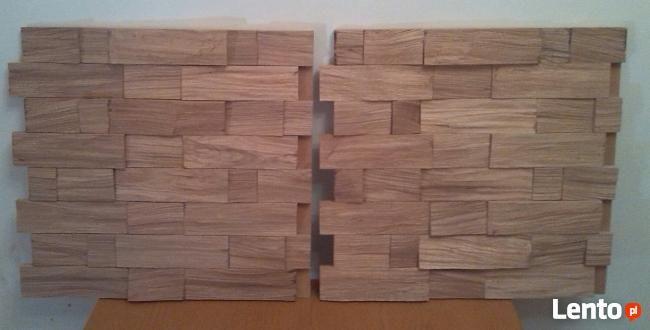 Panele ścienne 100% drewna bez szpar nowość
