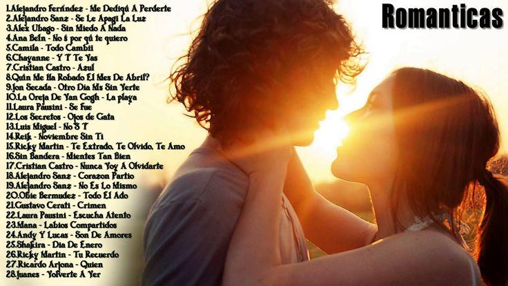 Canciones de Amor y Baladas Románticas 2016 - romantico grandes cancione...