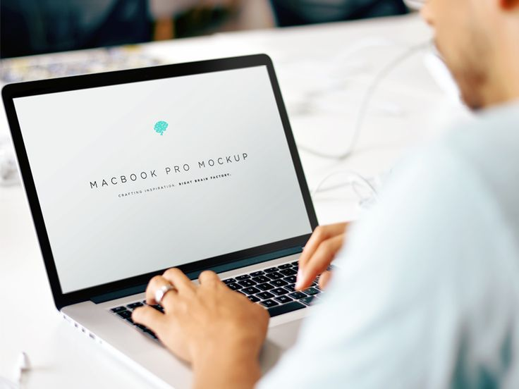 Free MacBook Mockup Freebies Display Free Graphic Design Laptop Macbook Macbook Pro MockUp Presentation PSD Resource Showcase Template