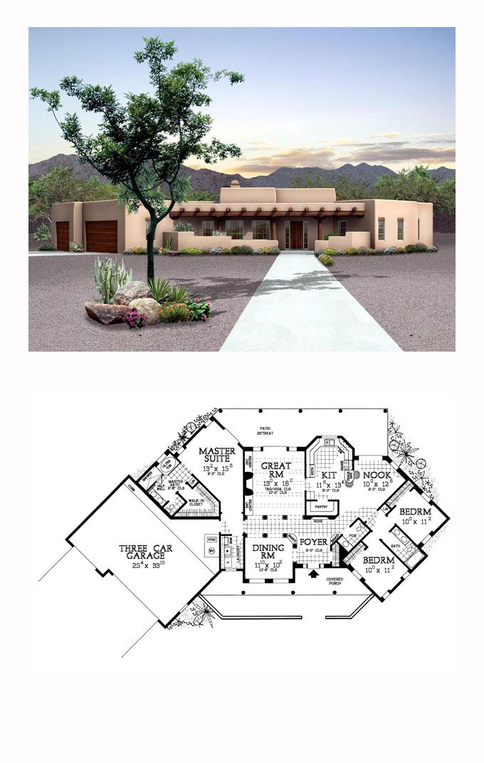 Saltbox House Plan 90273 Total Living Area 2015 Sq Ft 3