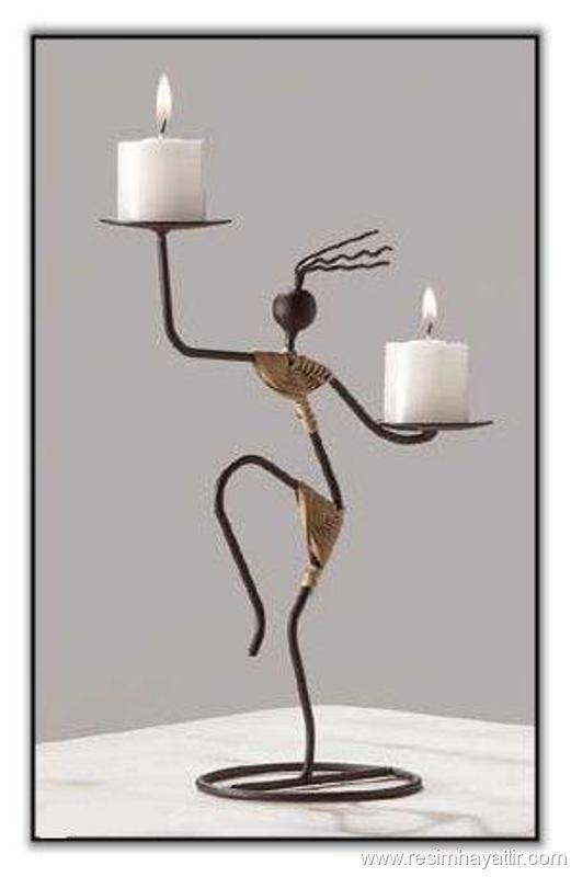 M s de 1000 ideas sobre candelabros de hierro forjado en - Colgadores de hierro forjado ...