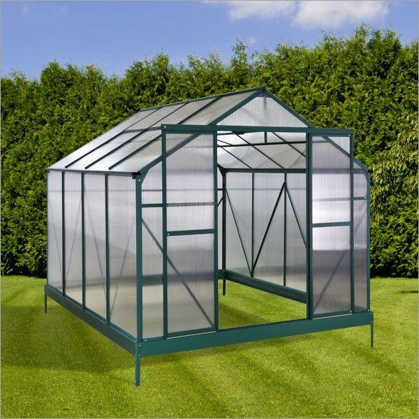 Duża szklarnia ogrodowa podwójne drzwi - BioPeak