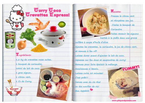 ★Curry Coco de Crevettes Express★ {Yummy Recette}