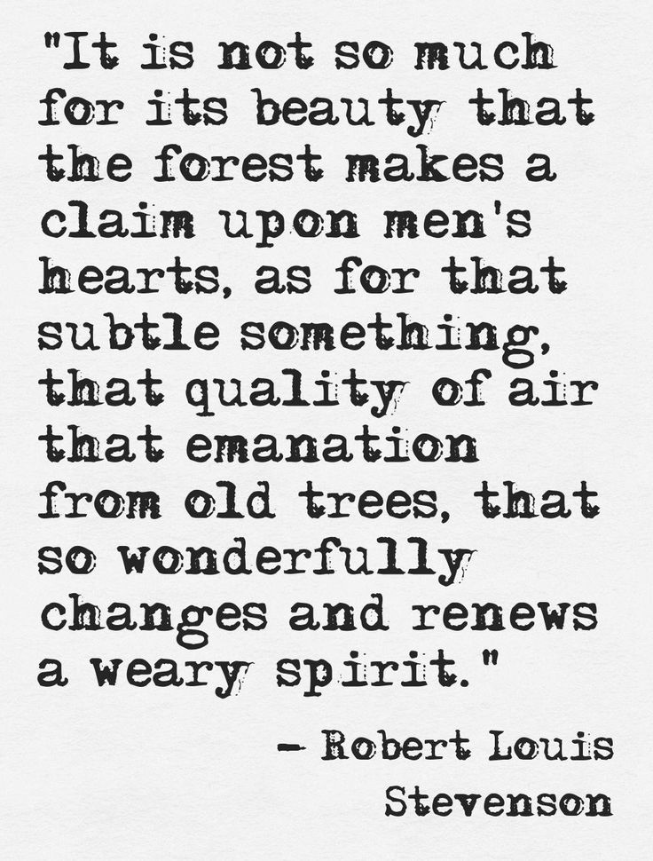 robert louis stevenson s quote on harvests