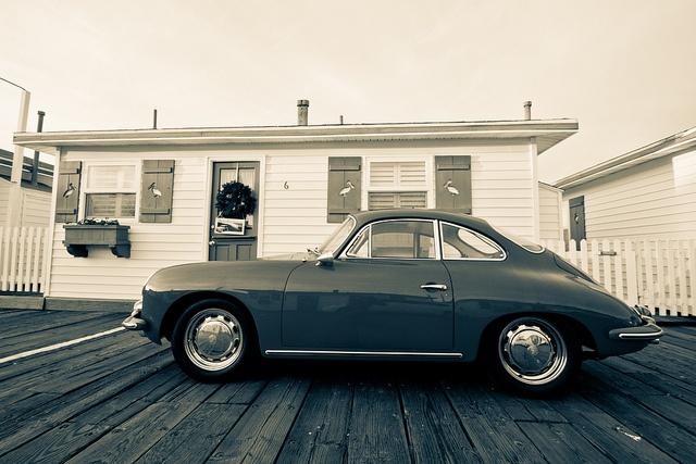 Vintage Porsche on Crystal Pier in Pacific Beach, San Diego | Flickr