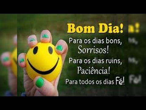 FALANDO DE VIDA!!: Bom dia- linda mensagem de bom dia - video de bom ...
