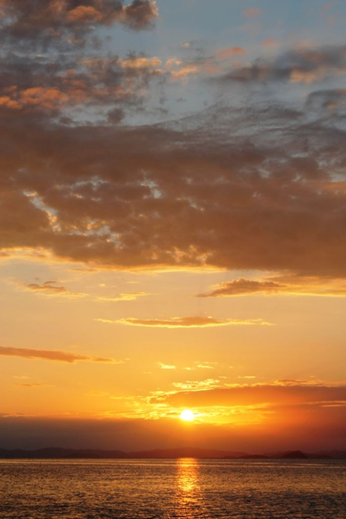 PowerPlay, sunset at the Whitsundays Islands