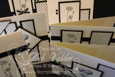 Black and White One Sheet Wonder using Springtime Hello with Deb Valder by djlab - Cards and Paper Crafts at Splitcoaststampers