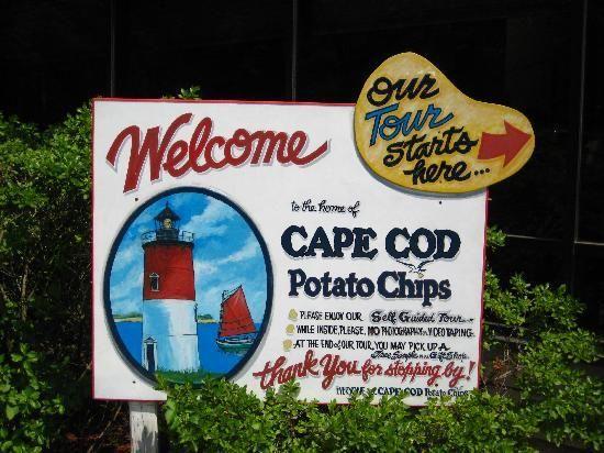 2013 Bucket List - Cape Cod Potato Chip Factory Tour in Hyannis