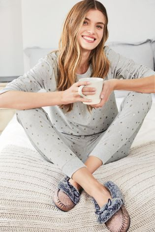 Buy Grey Star Cosy Pyjamas from the Next UK online shop