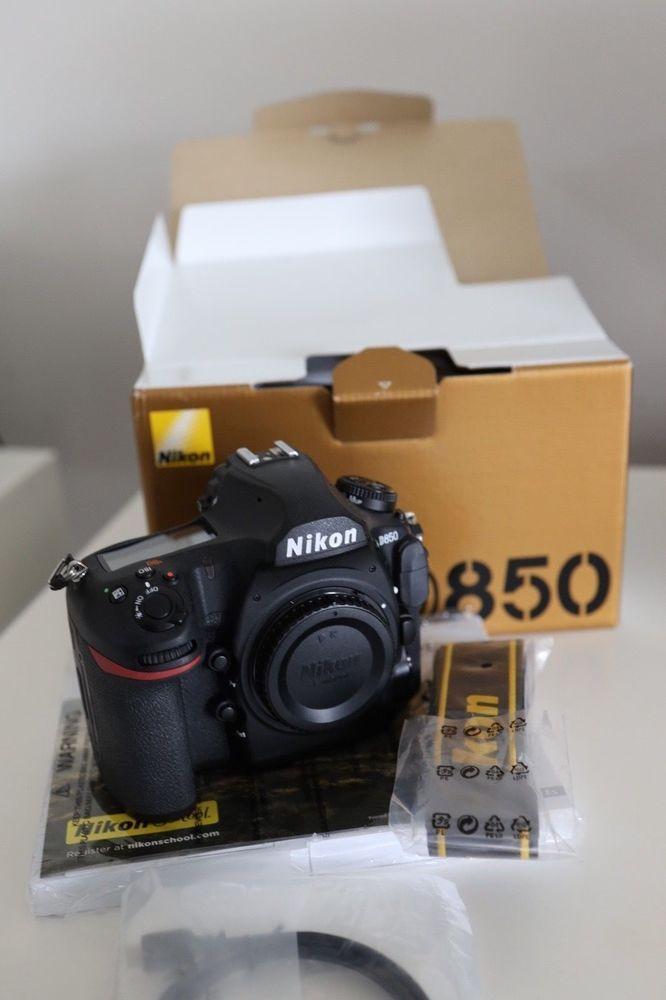 Nikon D850 Digital SLR Camera (Body Only) | Photography Gear